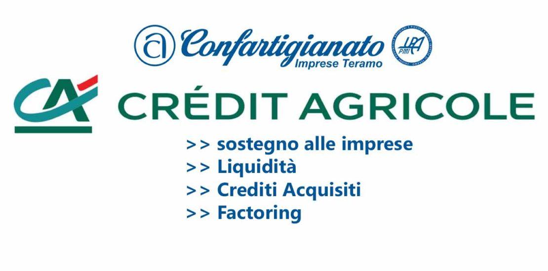 Credit agricole accordo